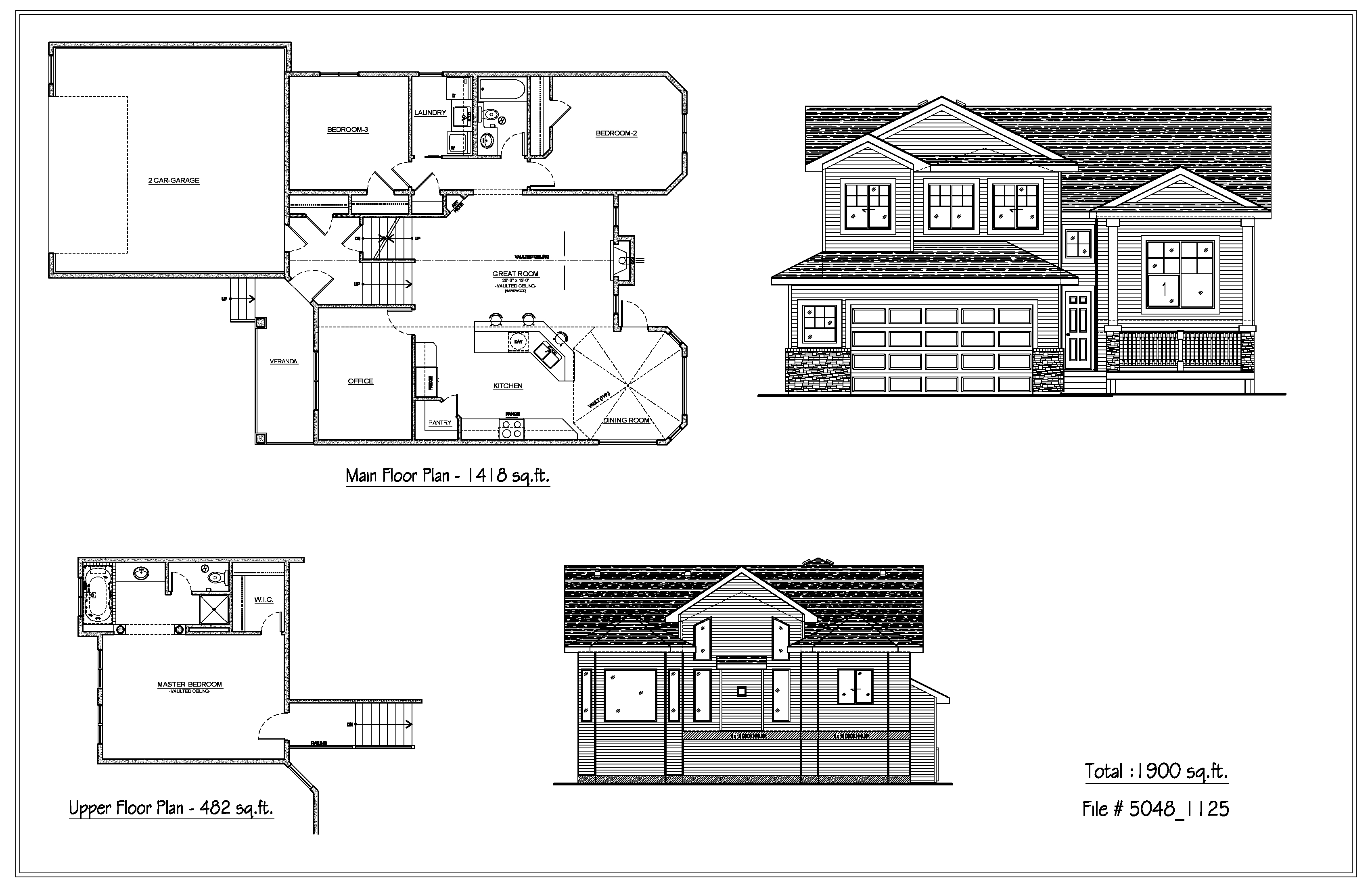 Bi level house plans 28 images bi level house plan for Bi level house plans